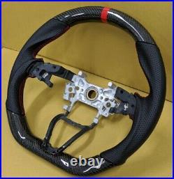 REVESOL Real Carbon Fiber Steering Wheel for 2018+ HONDA ACCORD INSIGHT