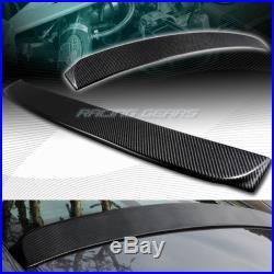 Real Carbon Fiber Rear Roof Window Visor Spoiler Wing Fit 06-15 Honda CIVIC 4-dr