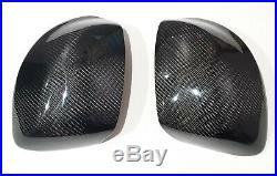 Real Carbon Fiber Side Mirror Cover For Honda Civic 9th 2012 2013 FB9 SEDAN