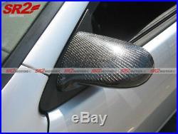 Real Carbon Fiber Spoon Style Power Adjust Side Mirrors fits 96-00 Civic EK