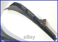 Real Carbon Fiber front fender air vent scoop fit for Honda Civic Type-R FK8